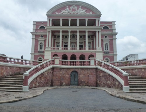 Manaus, a gateway to Amazon